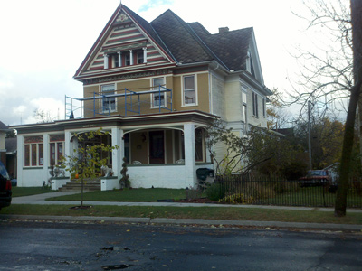 2010 Painted Lady Victorian Home in Progress