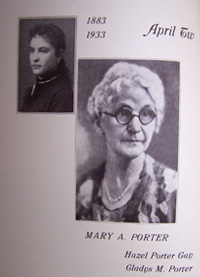 Mary A. Porter of Portage, Wi