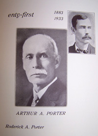 A.A. Porter of Portage, Wi - Real Name is Arthur Amasus