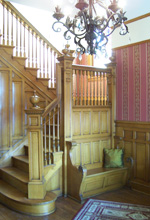 Victorian Grand Staircase in the Receiving Hall