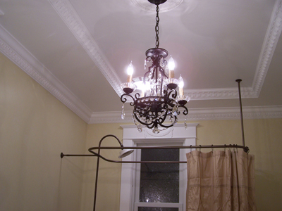 Chandellier and crown