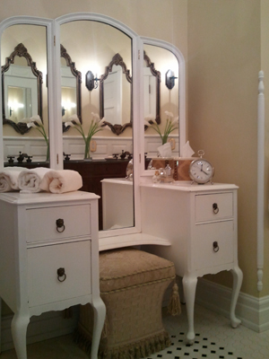Restored Bathroom Vanity